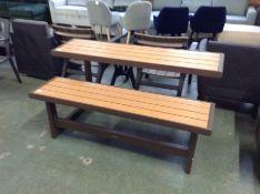 Lifetime,High-Density Polyethylene Bench RRP -£237.99 (23655/2LIIE1057)