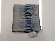 ALTONIA REFLECTION JACQUARD CUSHION COVER (BLUE) RRP - £10 (ANSY1616 - 22320/107) 1D
