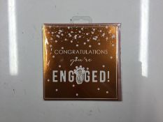 ROSEGOLD ENGAGE CARD SIZE ONE (X5) (NX129) - 8F