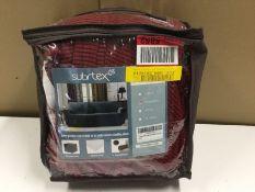 SPANDEX STRETCHY BOX CUSHION LOVESEA (RED) (CVBL1004 - H16053 - 1/23) 8F