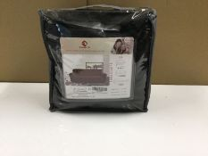 STRETCH BOX CUSHION ARMCHAIR SLIPCOVER (H16053 - 1/24) 8F