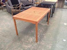 Dakota Fields,Afrin Wooden Dining Table RRP -£219.