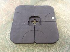 Dakota Fields,Hornung Plastic Freestanding Umbrella Weight RRP -£119.99 (23642/5AWVE1064)