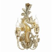 Ideal Lux, Eisen 2 Light Wall Lamp - RRP £309.99 (IDLL1510 - 17267/17)