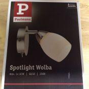Paulmann, Wandstrahler 1-flammig Wolba RRP - £10.99 (HAZL6400 - 11242/21) 2F