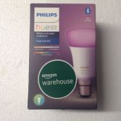 Philips Hue White and Colour Ambiance Single Smart Bulb LED [B22 Bayonet Cap] with Bluetooth., Works