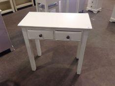 Banbury White Painted Dressing Table(C/101 -BP-DT-W)(DAMAGED