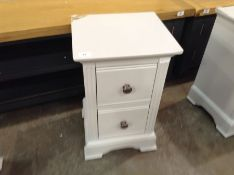 Banbury Grey Painted Small Bedside Table (A6 -BP-S