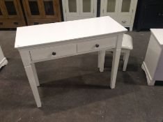 Florence White Painted Dressing Table(C/49 -SW-DT-W)