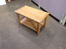 Gloucester Oak COFFEE TABLE (LOOSE LEG)