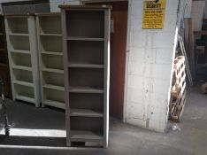 Rutland Painted Oak Tall Narrow Bookcase(C/40 -RA-LBC-TR)(DAMAGED)
