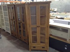 Winchester Oak Display Cabinet (B/3 -CO-DIS)