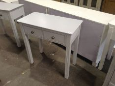 Banbury Grey Painted Dressing Table(C/26 -BP-DT-G)(DAMAGED)