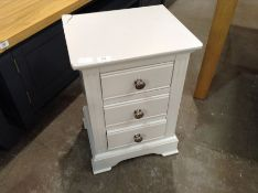 Banbury Grey Painted Large Bedside Table (A137 -BP