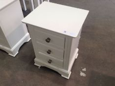 Banbury White Painted Large Bedside Table(C/19 -BP-LBSC-W)
