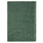 Longweave, Serene Shaggy Sage Green Rug (21513/3-LOWV3342)