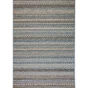 Union Rustic ,Pennock Beige/Blue Indoor/Outdoor Area Rug(60CM X 230CM)(21541/38-CBXF1083)