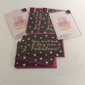 ASSORTMENT OF BIRTHDAY CARDS ( X8 ) (NX2 - 39) - 7D
