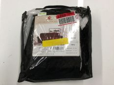 ROMBUS JACQUARD STRETCH BOX CUSHION ARMCHAIR (BLACK) (CBBL1027 - H16053 - 12/20) 8F