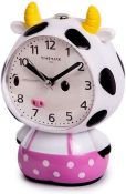 Timemark Clock, Cow, One Size - RRP £7.0375 (AMO030821 - 13 - 168 - LPNWE067403137) (RETURN NOT