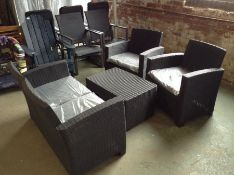 Dakota Fields,Nantan 4 Seater Rattan Sofa Set U002