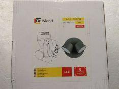 Mercury Row Clarence 2-Light LED Wall Spotlight - RRP £28.99 (HOKG3567 - 17931/43)