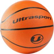 Ultrasport Basketball, Ideal Basketball for all Surfaces, Suitable for Indoor and Outdoor Use