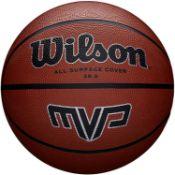 Wilson MVP Outdoor Basketball Rubber in Brown £11.65 RRP
