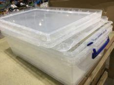 Plastic Storage Box Clear
