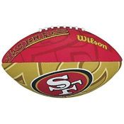 Wilson Unisex-Youth Mini NFL Team Soft Touch American Football