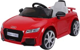 Audi TT RS 6V Battery Powered Ride On - £100.00 RRP