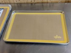 HALF SIZE BUN PAN WITH SILICONE BAKING MAT, UPDATE ABNP-50 - NEW