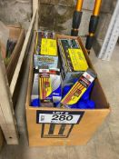 Lot of Asst. Promax Paint Markers, Paint Pens, Lumber Crayons, etc.