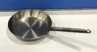 """10.75"""" FRENCH STYLE STEEL FRY PAN, JOHNSON ROSE 3828 - NEW"""