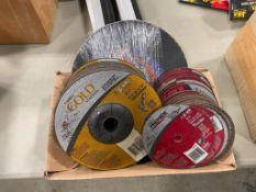 Lot of Asst. Cut-Off Discs