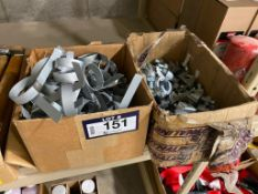 Lot of Asst. Bands and Clamps