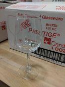 8.75OZ/260ML BREEZE WINE GLASSES, CARDINAL PRESTIGE L1808 - CASE OF 12 - NEW