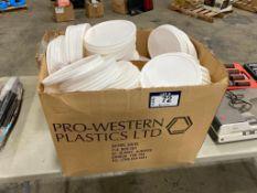 Lot of Asst. Plastic Lids
