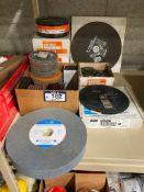 Lot of Asst. Walter Grinding Discs, Grinding Wheel, Cut-Off Discs, etc.