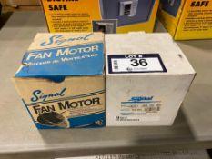 Lot of (2) Signal Fan Motors