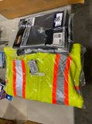 Lot of (2) XL Base Layers and (1) M Fleece Hi-Vis Jacket