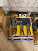 Lot of (3) Irwin Vise Grip Kits