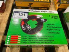 2-Gauge Professional Jumper Cables