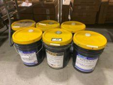 Lot of (6) Pails of Asst. Gear Oil