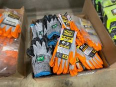 Lot of Asst. Cut-Resistant Gloves