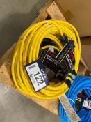 Lot of (3) 40ft. Extension Cords