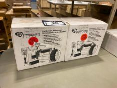 Lot of (2) Lightweight Waterproof Rechargeable Lantern System