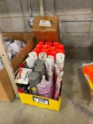 Lot of Asst. Spray Paint, Enamel, Snap and Spray, Edge Banding, etc.