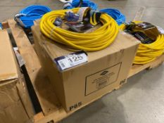 Lot of (6) 40ft. Extension Cords