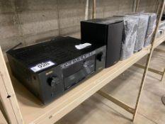 DENON AV Reciever AVR-X440H w/ (4) Polk Audio Speakers